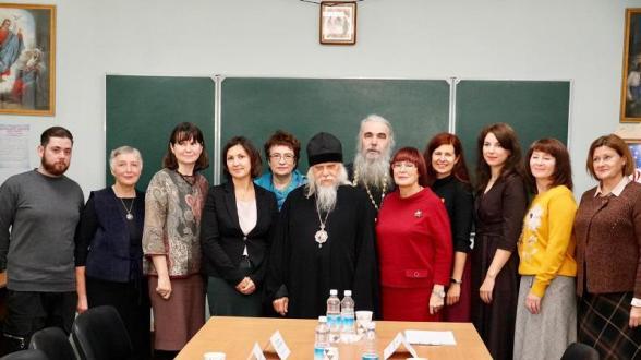 Встреча с владыкой Пантелеимоном | МОО «Союз православных женщин»
