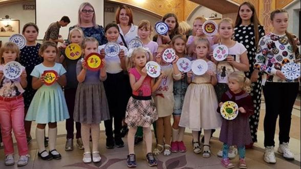 Открытие проекта «Дети и творчество: Русские узоры» | МОО «Союз православных женщин»