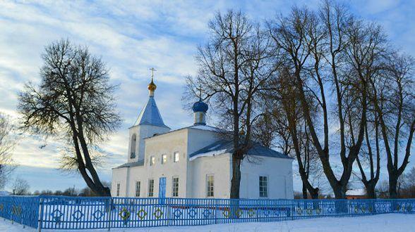 Сверкают купола над Любышским храмом | МОО «Союз православных женщин»