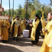 Молебен на начало строительства храма св. Луки Крымского в г. Димитровграде | МОО «Союз православных женщин»