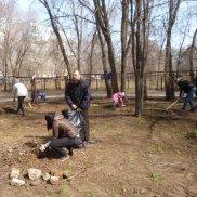 Субботник в Детском епархиальном образовательном центре (Самарская область) | МОО «Союз православных женщин»