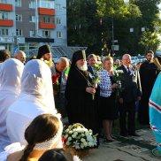 В Нижнем Новгороде состоялось открытие памятника, посвященного Воздвижению Креста Господня | МОО «Союз православных женщин»