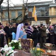 Освящение поклонного креста | МОО «Союз православных женщин»