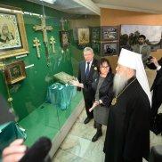 В Храме Христа Спасителя открылась фотовыставка «Патриарх. Служение Богу, Церкви, людям» | МОО «Союз православных женщин»