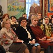 Встреча митрополита Владимирского и Суздальского Тихона с православными женщинами | МОО «Союз православных женщин»