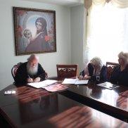 Встреча с правящим архиереем Симбирской митрополии   МОО «Союз православных женщин»