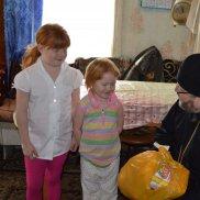 «Корзина добра» в праздник Рождества (Ульяновская область) | МОО «Союз православных женщин»