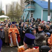 Епископ Воскресенский Савва возглавил Божественную литургию в день престольного праздника храма Жен-Мироносиц в Марьине | МОО «Союз православных женщин»