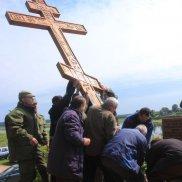 Воздвижение креста в Выбутах | МОО «Союз православных женщин»