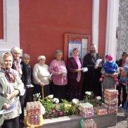 Традиционная встреча с многодетными, малообеспеченными семьями и одинокими престарелыми   МОО «Союз православных женщин»