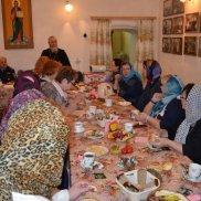 Делегация женщин из города Меленки в Гороховце | МОО «Союз православных женщин»
