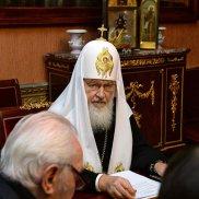 Святейший Патриарх Кирилл встретился с членами Бюро Президиума Всемирного Русского Народного Собора | МОО «Союз православных женщин»