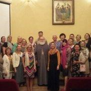 Посещение протопресвитера Георгия Марнеллоса регионального отделения МОО «Союз православных женщин» в Самарской области | МОО «Союз православных женщин»