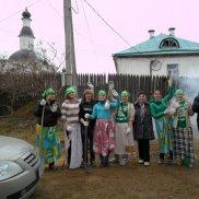 Субботник в Успенском Колоцком женском монастыре   МОО «Союз православных женщин»
