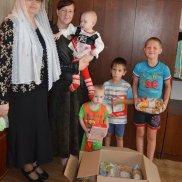 Отчет о гуманитарной помощи многодетным и малообеспеченным семьям. Лискинское благочиние | МОО «Союз православных женщин»