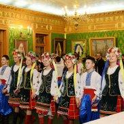 Святейший Патриарх Кирилл встретился с юными паломниками с Украины | МОО «Союз православных женщин»