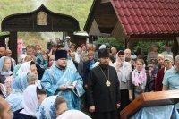 Божественная литургия в поселке Ерыклинск Мелекесского района