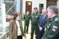 Выставка в Национальном центре управления обороной Российской Федерации
