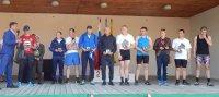 Спортивные состязания по гиревому спорту в г.Сенгилей, в день памяти Георгия Победоносца