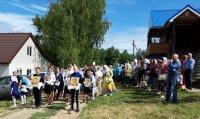 Престольный праздник в честь иконы Владимирской Божией Матери (Ульяновская область)