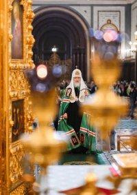 Патриаршая проповедь в праздник Благовещения Пресвятой Богородицы после Литургии в Храме Христа Спасителя