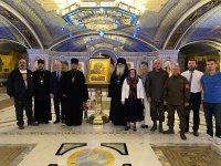 Икона Казанской Божией Матери «Державный Покров» передана в дар Главному храму Вооруженных сил в парке «Патриот»
