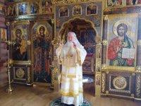 В Неделю 18-ю по Пятидесятнице Святейший Патриарх Кирилл совершил Литургию в Александро-Невском скиту