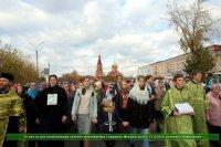 Торжества, посвященные 18-й годовщине канонизации святого преподобного Гавриила, архимандрита Мелекесского (Ульяновская область)