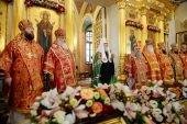 Слово Святейшего Патриарха Кирилла в день памяти блаженной Матроны Московской после Литургии в Покровском ставропигиальном монастыре г. Москвы