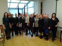 Встреча в посольстве Латвийской Республики