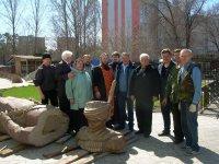 Памятник подполковнику Павлу Ивановичу Диомидию прибыл в Тольятти