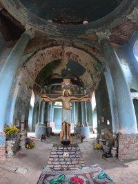 Престольный праздник в селе Аксиньино Тульской области