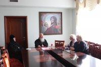 Встреча с правящим архиереем Симбирской митрополии