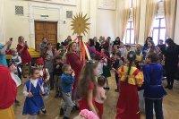 Подопечных реабилитационного центра «Парус надежды» поздравили с масленицей (Воронежская область)
