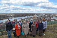 Делегация женщин из города Меленки в Гороховце