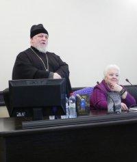 Творческая встреча с русским писателем протоиереем Николаем Агафоновым