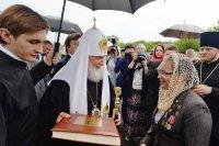 Встреча со Святейшим Патриархом Московским и всея Руси Кириллом (Владимирская область)