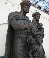 Памятник святым супругам Евфросинии и Дмитрию Донскому открыт в Москве