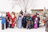 Рождественская встреча в Центре ипппотерапии «Флора и Лавра»